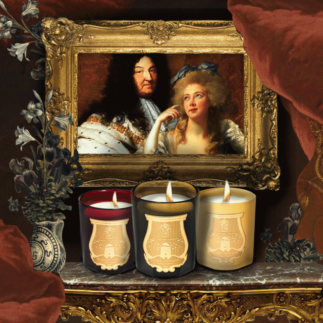 cire trudon candles louis XIV marie antoinette