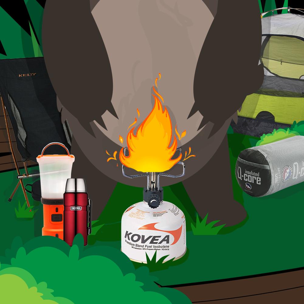 Essentials in Camping