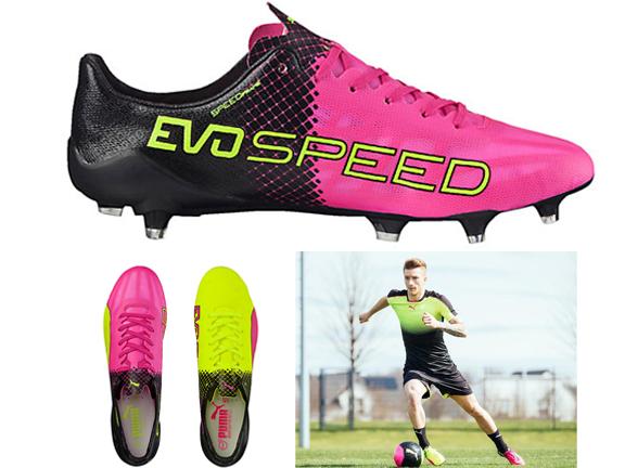 Shoes-Puma-evoSPEED SL II Tricks FG Men's Firm Ground Soccer Cleats