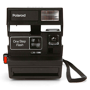 Vintage Polaroid 600 Camera Kit by Impossible Project