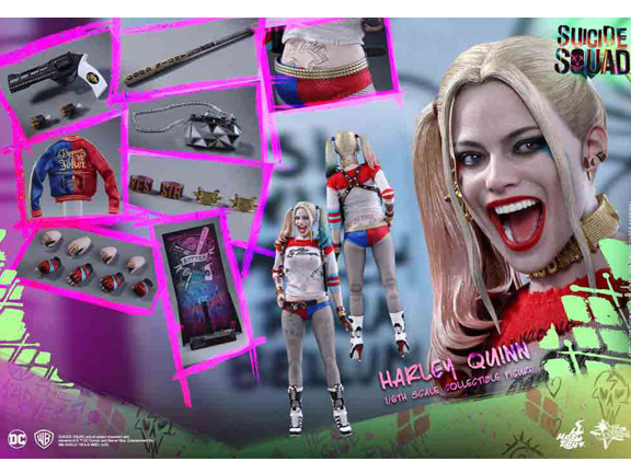 Action Figure-DC Comics-DC Suicide Squad Movie Masterpiece Harley Quinn Collectible Figure.png