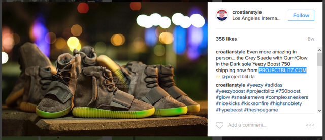 Adidas Yeezy Boost 750