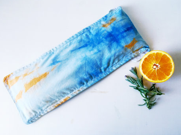 Herbal Pillow-Made in California-Om Sweet Om Lavender Sweet Orange Aromatherapy Herb Rice Blend Relaxation Pillow.png