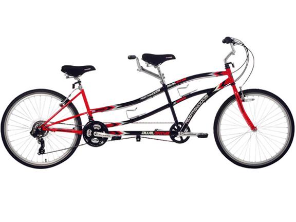Bike-Tandem Bike-Northwoods Tandem Bike 21-Speed Dual Drive.png