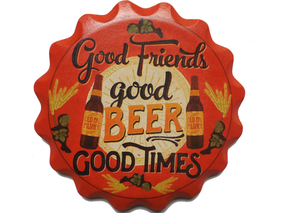 Coaster-Beer Coaster-Ceramic Coaster Set Gift- Beer With Friends.png
