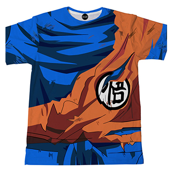 Battle Damaged Son Goku - Men SkinZ Shirt_Square.jpg