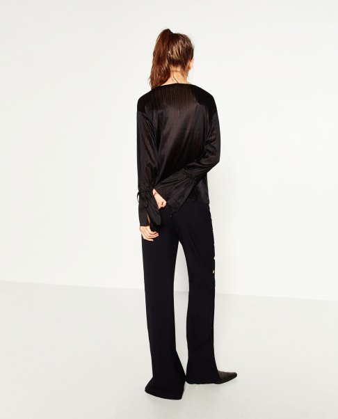 blouse-cord-sleeve-zara-black