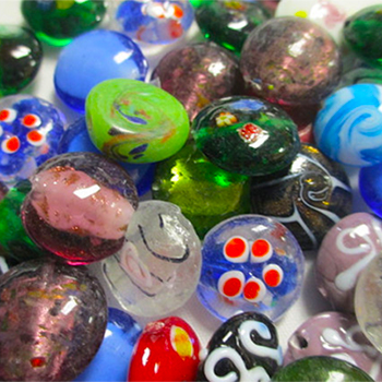 Lampwork Coin Flat Beads (50 pcs).jpg