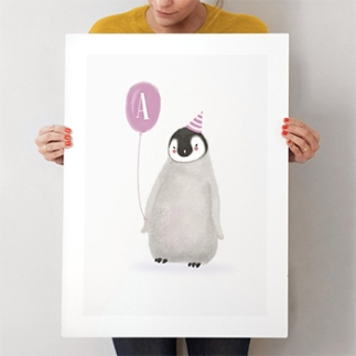 coolest-penguin-custom-art-prints-minted