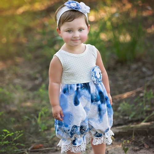 Haute Baby Summer Song Bubble Romper