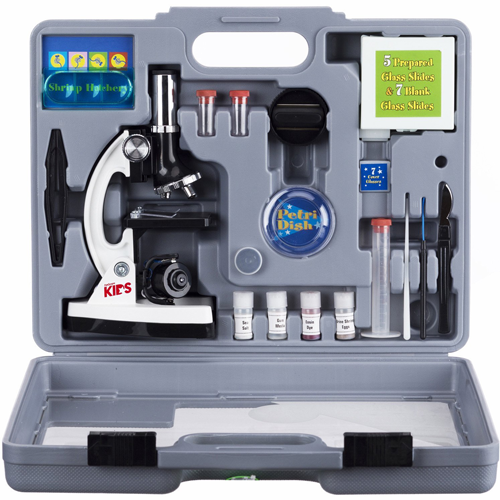 AmScope-Microscope Kit with Metal Arm and Base