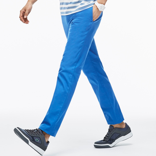 Lacoste-Regular Fit Cotton Twill Chino Pants
