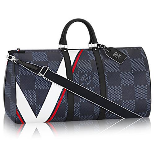 Louis Vuitton-Keepall 55 Bandoulière