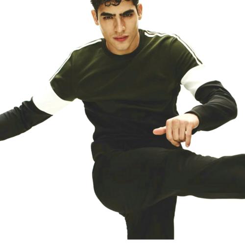 Next-Khaki Chevron Sweatshirt