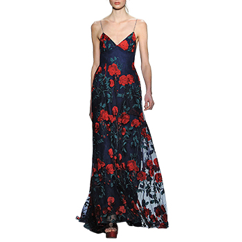 vogue blog adam selman gown