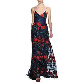 vogue blog adam selman gown