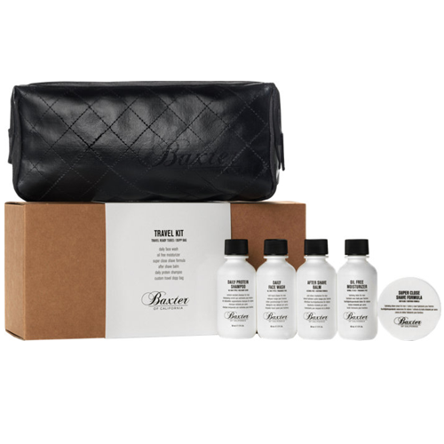Travel Essentials for Men : Baxter of California-Travel Kit