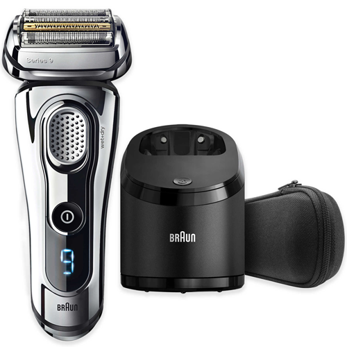 Travel Essentials for Men : Braun-Series 9 Electric Shaver
