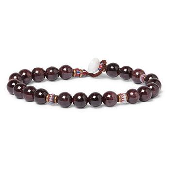 Summer Clothes: Mikia Garnet Beaded Bracelet