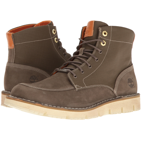 Travel Essentials for Men: Timberland-Westmore Leather Fabric Boot