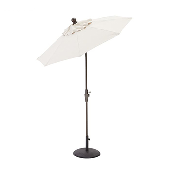Square Market Umbrella by Pottery Barn with white background