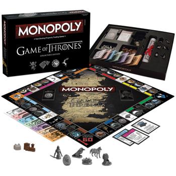 Hasbro Toyshop-Monopoly-GOT Collector's Edition Board Game