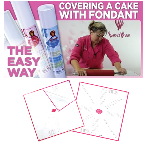 THE HOME MAT-The Ultimate Fondant Application System